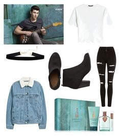 """""""Shawn Mendes """" by laurenhyh on Polyvore featuring Topshop, Alexander McQueen, denim, shawnmendes and mendesarmy"""