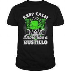 I Love  BUSTILLO Patricks day T-Shirt T-Shirts