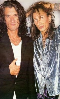 joe perry and steven tyler Aerosmith ~A. Brad Whitford, Steven Tyler Aerosmith, Elevator Music, The Jam Band, Joe Perry, Stevie Ray Vaughan, David Gilmour, Jimmy Page, Keith Richards