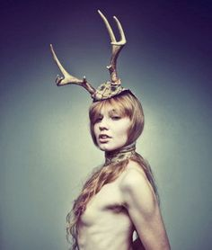 "Wow! Not sure how I would feel! Ha Ha! ""Your head will look way better with a set of antlers on it!""  Deer Antlers Head Piece by SnarlApparel on Etsy, $170.00"