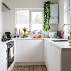 Cocinas blancas pequeñas