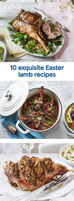 Celebrate Easter with a stunning roast lamb centrepiece – choose between simple rack of lamb for two, tender slow cooked shanks or a classic whole roast leg for an Easter roast to feed a crowd. Lamb Recipes, Meat Recipes, Dinner Recipes, Cooking Recipes, Healthy Recipes, Easter Lamb, Tesco Real Food, Lamb Dishes, Roast Lamb