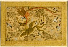 mughal monkey painting - Google zoeken
