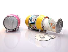 Soda CD Can