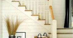 Awesome Modern Farmhouse Staircase Decor Ideas - Page 41 of 75 - Afifah Interior Cottage Style, Farmhouse Style, Farmhouse Decor, Modern Farmhouse, Farmhouse Ideas, Cottage Design, Farmhouse Design, Rustic Style, Country Style
