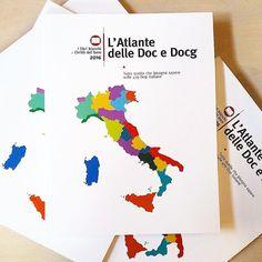 L'attesa è finita. Ecco a voi, fresco di stampa, il primo Atlante delle Doc e Docg d'Italia!