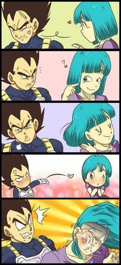 Vegeta não sabe brincar! #anime #dragonball #vegeta