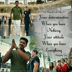 My favorite actor with a good thouht Tamil Movie Love Quotes, Favorite Movie Quotes, Meaningful Quotes, Inspirational Quotes, Motivational Quotes, Happy Quotes, True Quotes, South Quotes, Fan Quotes