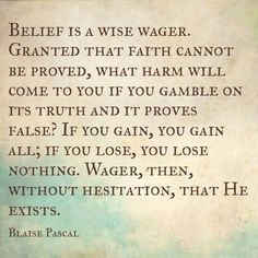 Blaise Pascal Quotes About God. QuotesGram