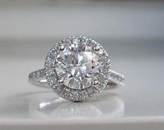 A close up shot of a stunning #engagement #ring #MajestyDiamonds.com <3