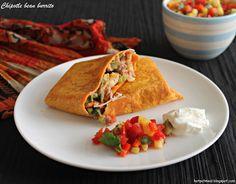 Hot Pot Cooking: Chipotle bean burrito
