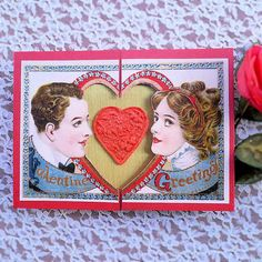 A traditional design with an embossed paper heart (made of toilet paper pressed into a mold).     http://www.tpt-fonts4teachers.blogspot.com/2013/01/san-valentines-day-free-clip-arts.html