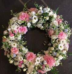 Funeral Flower Arrangements, Funeral Flowers, Floral Arrangements, Floral Wedding, Wedding Flowers, Funeral Sprays, Shabby Chic Garden, Outdoor Wreaths, Sympathy Flowers
