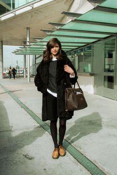 Alba Galocha - Mercedes Benz Fashion Week Madrid - Streetstyle
