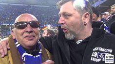 """Gänsehaut Stimmung beim Sieg HSV - Leverkusen in der Imtech Arena. """"Das ist keine 2. Liga, das hat mit 2. Liga nichts zu tun."""""""