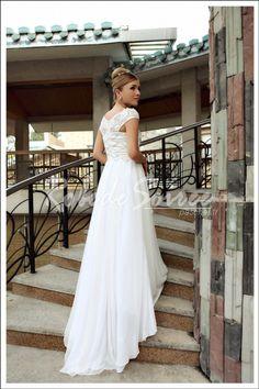 Élégant robe blanche 30277 [Doris045] - €120.50 : Robe de Soirée Pas Cher,Robe de Cocktail Pas Cher,Robe de Mariage,Robe de Soirée Cocktail.