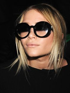 Ombre sunglasses! I've been searching for these for a while now... seems like ms. olsen has the only pair left..