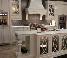 #beautifulkitchen #paintedcabinets #idswest15 by adriennesdesigns Great kitchen remodeling ideas