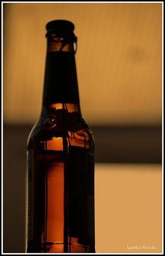 Rubia de botellín ao atardecer - Blonde bottle to sunset