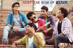 MEET THE BOYS OF #UVA Hindi Movie... #Dhanrajfilms pvt.Ltd. #Comedy with #SocialDrama #upcomingmovie  #bollywood