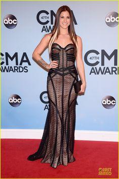 Cassadee Pope & Danielle Bradbery - CMA Awards 2013 Red Carpet