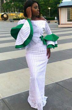 African Maxi Dresses, African Dresses For Women, Ankara Dress, African Wedding Attire, African Attire, African Wear, Senegalese Styles, Nigerian Dress Styles, African Blouses