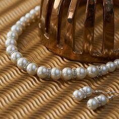 Big pearl necklace bridesmaid gift wedding by asteriasbridal