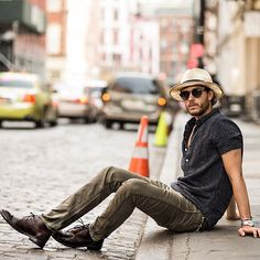 BLOGGED: Grand - feat. @thefryecompany boots shot by @on_abbotkinney #NYC (at IAMGALLA.com)