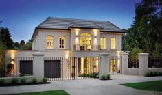 French Provincial Homes