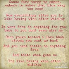"""Wine After Whiskey"" by Carrie Underwood"