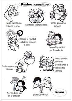 La Catequesis: Recursos Catequesis Oración Padrenuestro
