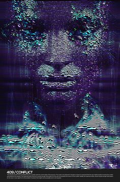 """Spanish digital artist Retoka created this amazing project called """"Client Error which illustrator some error images in a way I've never seen before. There's also a video of the process, check it out! Graphic Design Illustration, Digital Illustration, Technology Posters, Vaporwave Art, Glitch Art, Pics Art, Photo Manipulation, Graphic Design Inspiration, Futuristic"""