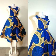 Ankara Pinafore Styles Collection For Fashion Lovers 2018 African Fashion Ankara, Latest African Fashion Dresses, African Print Fashion, Africa Fashion, Short African Dresses, African Print Dresses, African Attire, African Wear, African Print Dress Designs
