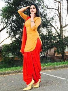 New Plain Mustard Red Patiala Salwar Suit (Red Mustard) Patiala Dress, Patiala Salwar Suits, Indian Salwar Suit, Punjabi Dress, Pakistani Dresses, Punjabi Suits, Suit Fashion, Fashion Outfits, Fashion Hub