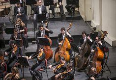 Concierto 9: Advis / Beethoven. Orquesta Filarmónica de Santiago. Director musical: Konstantin Chudovsky. Foto: Patricio Melo.