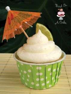 Coconut Lime Cupcakes by Robin Evans