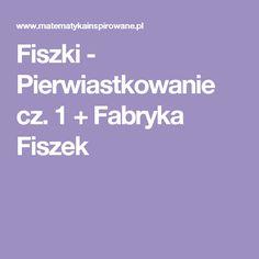 Fiszki - Pierwiastkowanie cz. 1 + Fabryka Fiszek