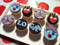 Mama OWL: Moshi Monster cupcakes
