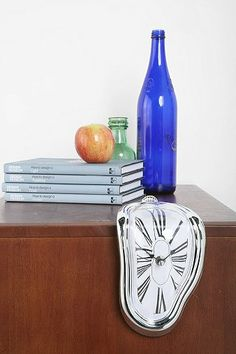 GOT IT! Thanks #ThinkGeek  Urban Outfitters Melting Clock  $20.00
