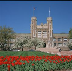 Washington University in St. Louis  St. Louis, Missouri...alumni right here.  All my $$ probably went to buy the tulips:)
