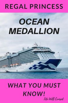 If you're cruising with Princess Cruises, then you're hearing all about Ocean Medallion and being Ocean Ready. This is a must read to know all about the ship wifi, the app you need to download, and the features you'll love! #cruise #cruisetips #cruiseships #cruising #familycruise