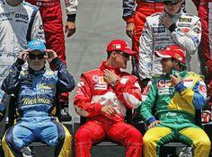#alonso #schumacher #massa #2006 #brasil #f1 #renault #ferrari