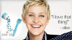 Before hosting the Oscars in 2014, Ellen used the AMP MD Roller to get her skin Oscar ready! Contact me to get yours! Www.shawnnaeaton@myrandf.com