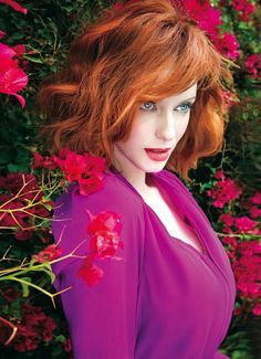 Christina Hendricks | Rhapsody Magazine by Tony Duran, April 2014