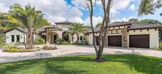 <div><ul><li>This opulent Mediterranean house plan has a wealth of luxurious amenities to give you a high-end life style.</li><li>Gorgeous ceiling treatments can be found throughout the home, even the utility room!</li><li>The open floor plan offers beautiful sightlines that flow from room to room.</li><li>Perfectly positioned, the large wet bar serves both the formal and informal living areas of the home.</li><...