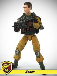 Scoop - G.I. Joe & Cobra customs