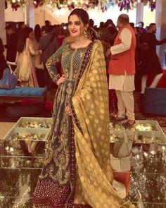 Pakistani Fancy Dresses, Pakistani Fashion Party Wear, Pakistani Wedding Outfits, Pakistani Dress Design, Pakistani Bridal, Pakistani Couture, Indian Couture, Bridal Lehenga, Indian Dresses