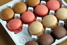 making French macarons: instructions and recipes by David Lebovitz