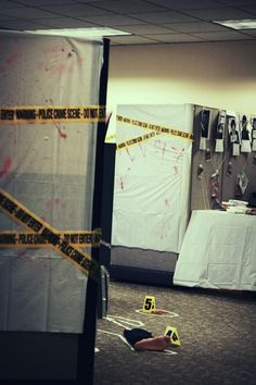Halloween at the Office: CSI