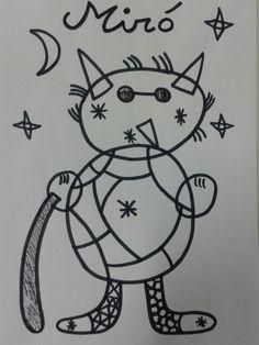 Dimoni a l'estil Miró